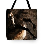 Horse Art Tote Bag
