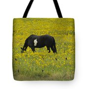 Horse  Birds  And Flowers   #8520 Tote Bag