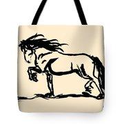 Horse - Blacky Tote Bag