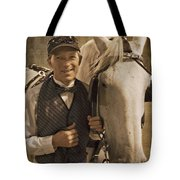 Horse Carriage Driver 1 Tote Bag