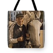 Horse Carriage Driver 3 Tote Bag