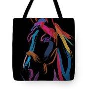 Horse-colour Me Beautiful Tote Bag