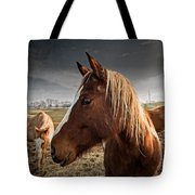 Horse Composition Tote Bag