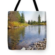 Horse Creek Wy Tote Bag