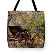 Horse-drawn Buggy Tote Bag by Kathleen Bishop