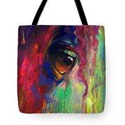 Horse Eye Portrait  Tote Bag by Svetlana Novikova