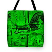 Green Horse E Tote Bag