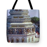 Horse Guardian Spire Artwork Tote Bag