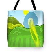 Horse Hills Tote Bag
