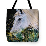 Horse Ign Tote Bag