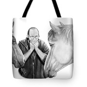 Horse Music Tote Bag