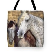 Horse One Tote Bag