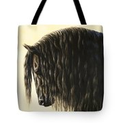 Horse Painting - Friesland Nobility Tote Bag by Crista Forest