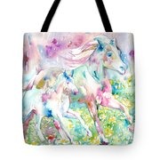 Horse Painting.17 Tote Bag