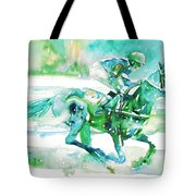 Horse Painting.18 Tote Bag