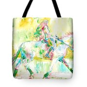 Horse Painting.19 Tote Bag