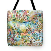 Horse Painting.20 Tote Bag