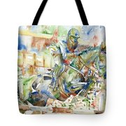 Horse Painting.21 Tote Bag