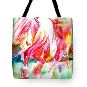 Horse Painting.22 Tote Bag