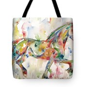 Horse Painting.23 Tote Bag