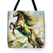 Horse Painting.25 Tote Bag