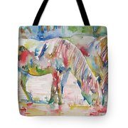 Horse Painting.27 Tote Bag