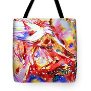 Horse Painting.28 Tote Bag