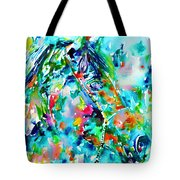 Horse Painting.30 Tote Bag