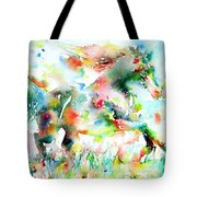 Horse Painting.36 Tote Bag