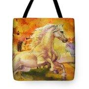 Horse Paintings 003 Tote Bag