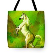 Horse Paintings 010 Tote Bag