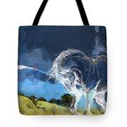 Horse Paintings 012 Tote Bag