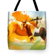 Horse Paintings 013 Tote Bag