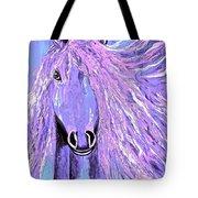 Horse Pale Purple 2 Tote Bag