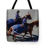 Horse Police Tote Bag