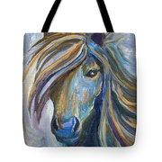 Horse Portrait 102 Tote Bag
