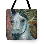 Horse Portrait 103 Tote Bag