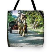 Horse Powered Mackinac Island Tote Bag
