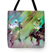 Horse Racing 04 Tote Bag