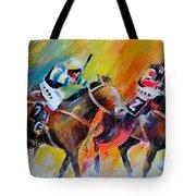 Horse Racing 05 Tote Bag