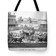 Horse Racing, C1869 Tote Bag