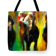 Horse Racing IIi Tote Bag