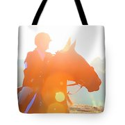 Horse Show Flares Tote Bag