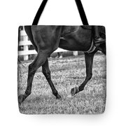 Horse Stepping Tote Bag