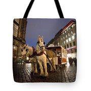 Horse Tram Tote Bag