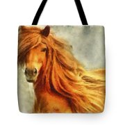 Horse Two Tote Bag