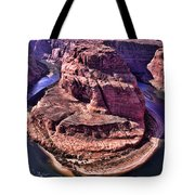 Horsehoe Bend On The Colorado River Tote Bag