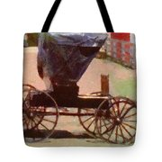 Horseless Carriage Tote Bag by Jeff Kolker