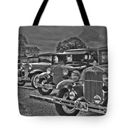 Horseless Carriages Tote Bag