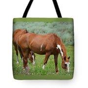 Horses Tote Bag